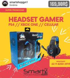Headset Gamer para Xbox One, PS4 e Celular
