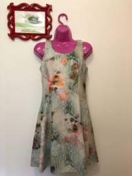Vestido Madame Ms estampa floral
