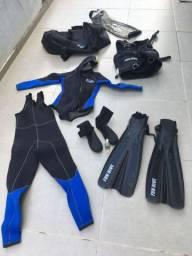 Bag impermeável para equipamento de mergulho
