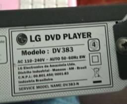 Dvd LG Karaokê Com 2 Entradas P Microfones Usb