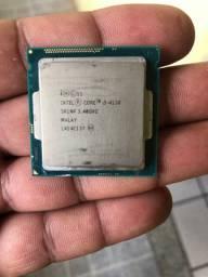 Processador I3 4130 e memoria ddr3 4GB