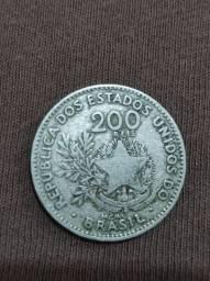 Moeda 200 réis 1901