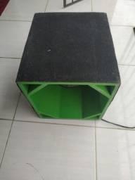 Caixa sub com fone de 12 pesado e refrigerado