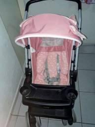Conjunto Carrinho + Bebê Conforto Tulti Baby