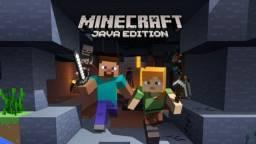 Contas Minecraft R$30,00