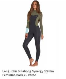 "Long jhon Billabong ""M"" feminino"