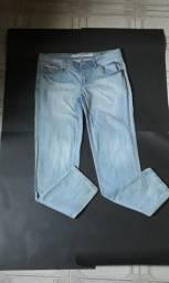 Calça jeans clara - tamanho 46