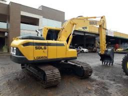 Escavadeira Hidraulica SDLG 6150e Ano 2013 7400 horas