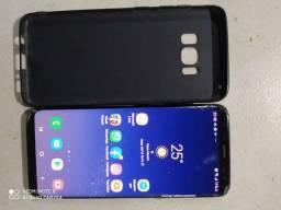 Samsung S8 com tela quebrada, touch falhando