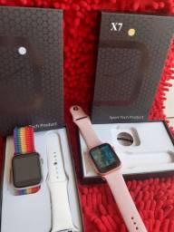 Smartwatch X7 vendo ou troco 2 em Galaxy S8, unid 200,00