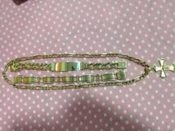 Lindo bracelete em ouro 18