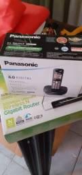 Roteador e telefone sem fio