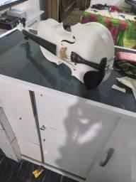 Violino  3/4 branco