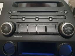 Rádio CD original honda new civic 2011