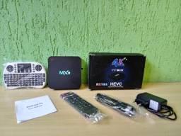 Aparelho TV Box 4k (Transforma TV em SmartTV). Seminovo. Perfeito funcionamento.