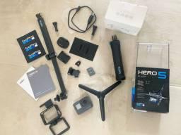 GoPro Hero 5 Black + acessórios originais