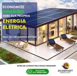 Energia solar fotovoltaica o melhor preço de Brasília-DF