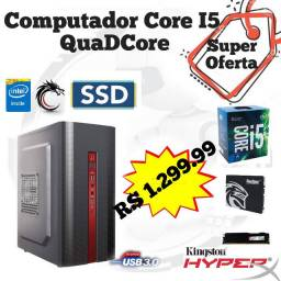 PC Intel Core i5+Mobo B75/H61+SSD 120GB+Hyper 1600MHz (( Lacrado ))