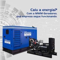 Geradores a diesel para Empresas e Fazendas MWM