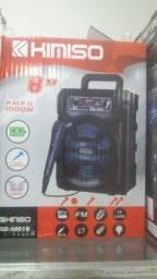 Caixa de som bluetooth amplificada 1000W