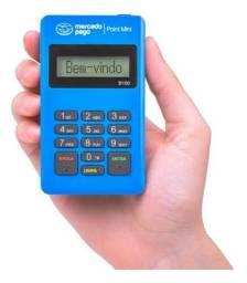 Máquina de cartão de crédito point mini mercado pago