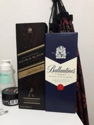 Whisky Double black e ballantines