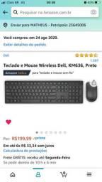 Vendo Mouse e Teclado Dell sem fio
