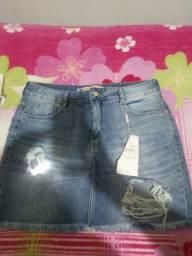 Saia jeans 42/44