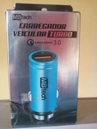 Carregador Veicular Turbo