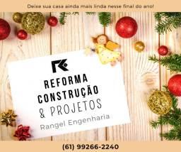 Construção, projetos e reformas
