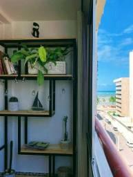 Apartamento por temporada com vista para o mar na Ponta Verde de Maceió - AL