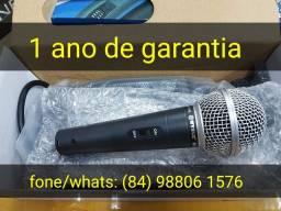 Microfone profissional garantia de 1 ano