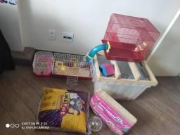 Hamster - gaiola / ambiente completo