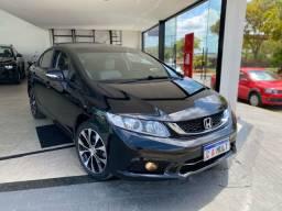 Honda Civic LXR 2015 Baixo km Aceito trocas e Financio