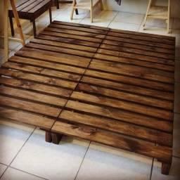 Cama / sofá Madeira maciça