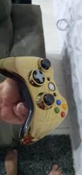 Controle original xbox 360 como novo praticamente sem uso 160 reais