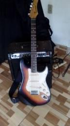 Vendo guitarra sanik made indonésia
