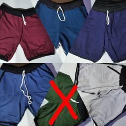4 shorts tamanho m em algodão por R$100,00 não faço a entrega