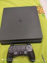 PS4 SLIM 500G Aceito Cartão
