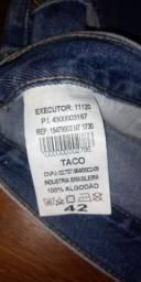 Calça Jeans Taco 42 masculino nova 50 reais