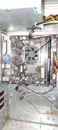 KIT Placa mãe itx msi +Intel Celeron 847 1.10 ghz ddr3 +4g  de memória FURY