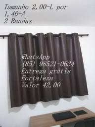 Cortina blecaute (Plastico) - entrega grátis