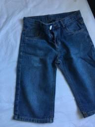 Bermuda Jeans Unissex