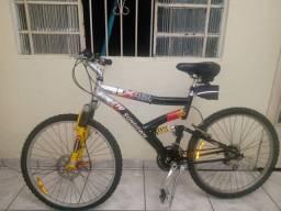 Bicicleta Sundown Modelo: Extreme Aluminium 21V Amarelo e preto