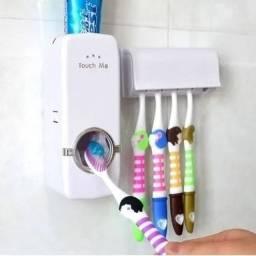 Dispenser Aplicador Creme De Pasta Dente Suporte Escovas