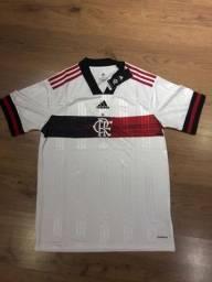 Camisa Adidas Flamengo Branca 2020 - Aceitamos cartoes!
