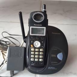 Telefone sem fio Panasonic, para retirada de peças ou conserto.