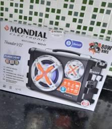 Caixa Amplificada Mondial Mco07 Bivolt