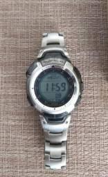 Relógio Pro Trek Prg 110 Pulseira de Titânio