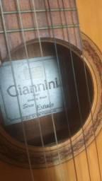 Violão gianini série estudo bem conservado por $250